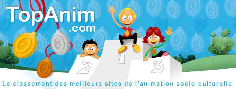 Top'Animation > Classement des sites de l'animation
